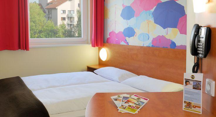 Zweibettzimmer im B&B Hotel Regensburg