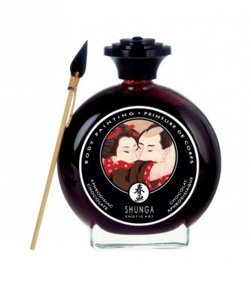 Chocolate Edible Body Paint - Shunga. Bring out the sexy artist within you with Shungas' body paint. R269.00