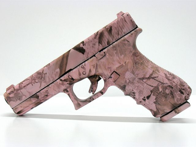 Glock17 Gen4 Pink Camo by Shoot Smart Fort Worth, TX, via Flickr