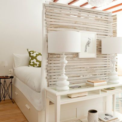 light / airy / pinnable dividing wall