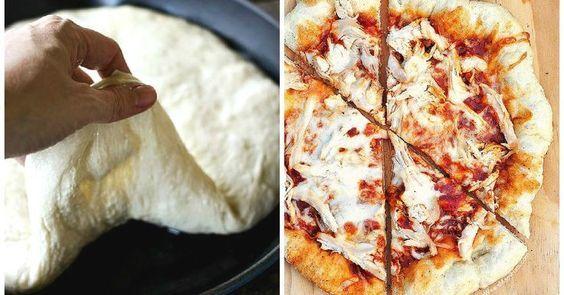 Weiwels Pfannenpizza. Entdecke unser Rezept.