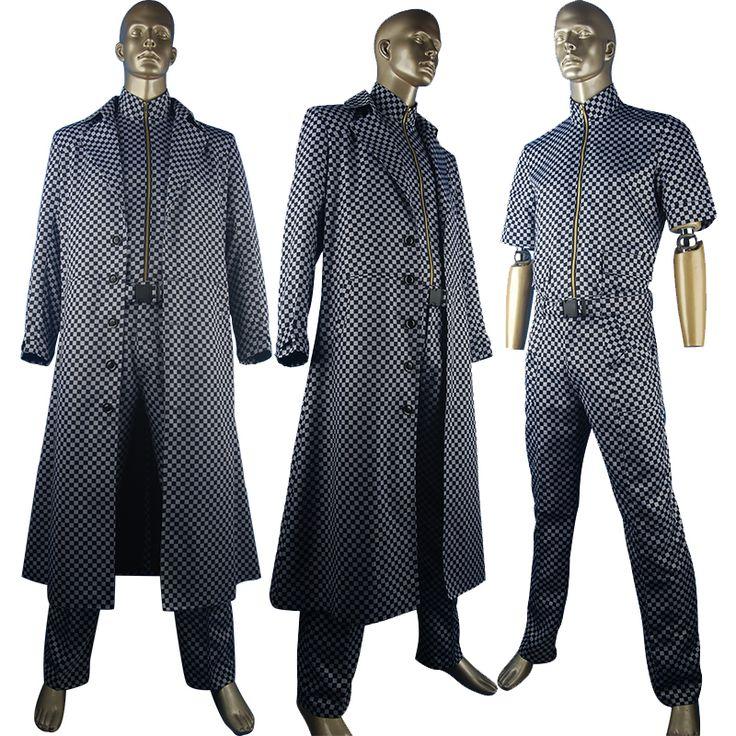 Resident Evil Albert Wesker cosplay costume halloween costume film costume fancy gift for boys men christmas gift make-up costume