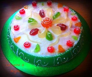 La cassata siciliana è uno dei dolci tipici siciliani più apprezzati la#ricetta sul blog #La cucina di Reginé.