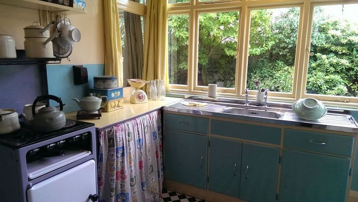 John Lennon's childhood kitchen (1945-1963)