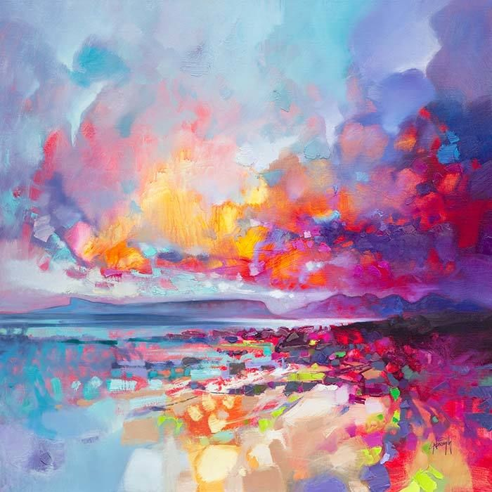 Colours of Arisaig (Limited Edition) by Scott Naismith - Art Prints Gallery
