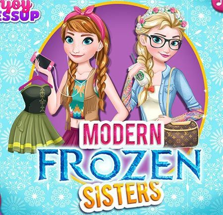Modern Frozen Sisters is a free Games For Girls. Here you can play this game online for free in full-screen mode in your browser for free without any annoying AD