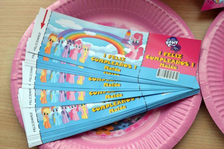 Etiquetas bebida my little pony  #bebida #mylittlepony #cumpleaños #party #birthday #fiesta