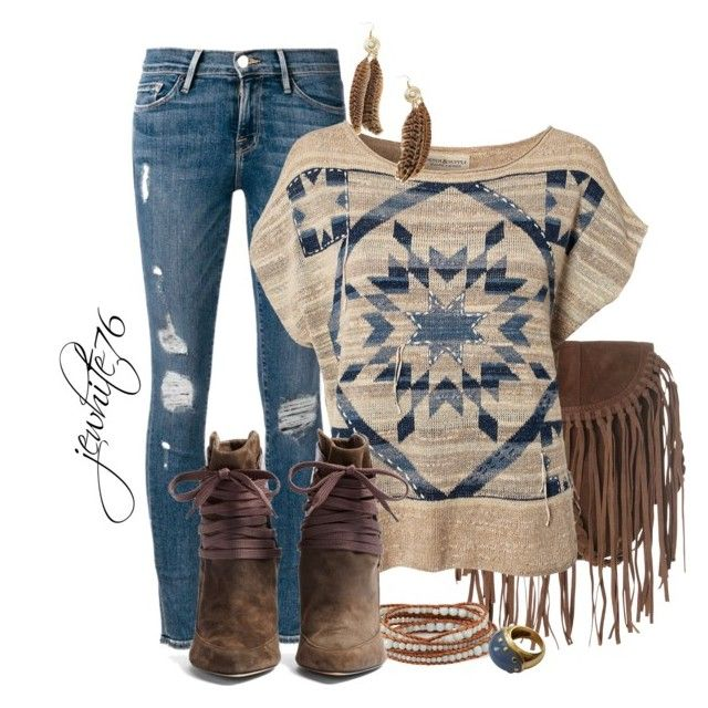 """Denim and Supply Ralph Lauren Multi Pullover"" by jewhite76 on Polyvore"