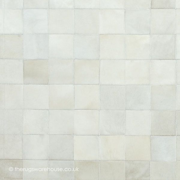 white rug texture. chantilly blanc rug (texture close up), a luxury patchwork style handmade cowhide leather white texture