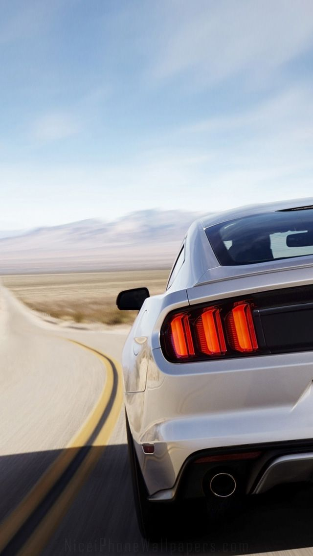 Ford Mustang 2015 iPhone 5 wallpaper