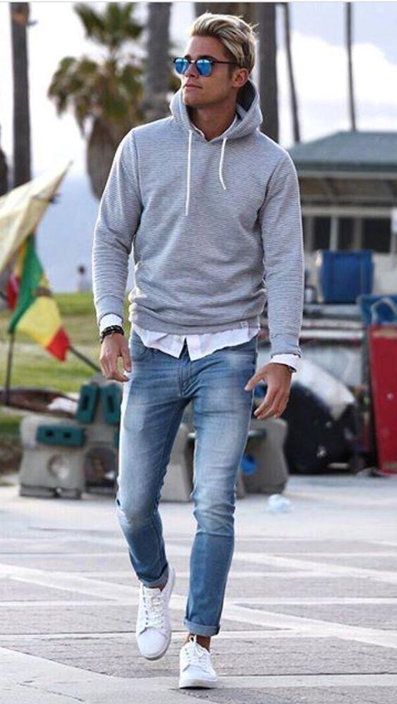 Hoodie – Pullover – #herrenmode #hoodie #pullover