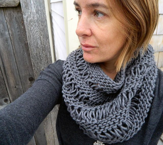109 Best Knit Infinity Scarf Patterns Images On Pinterest Knitting