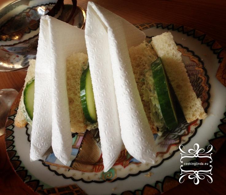 OKURKOVÉ sendviče k čaji o páté