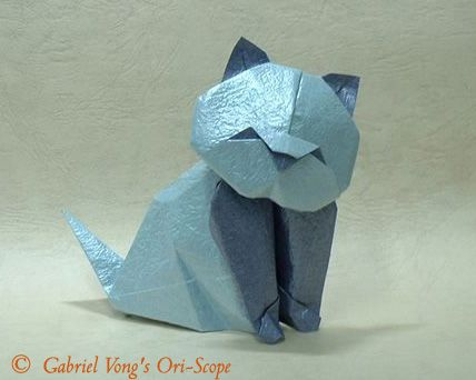 origami cat diagram 2
