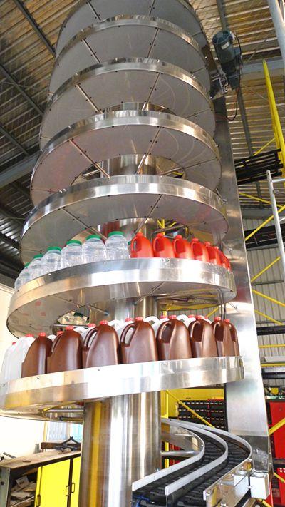 NEXUS Dual track spiral conveyor