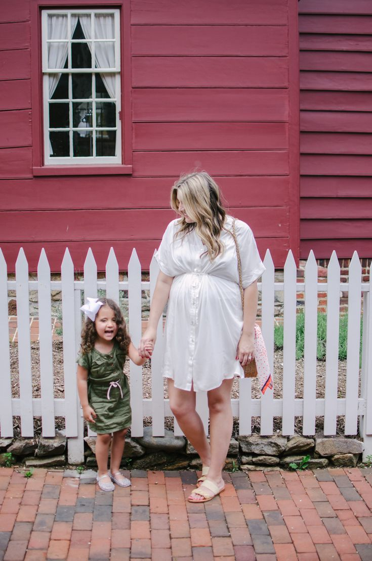 summer pregnancy outfit – mom and me dresses for summer | bylaurenm.com   – Pregnancy Style