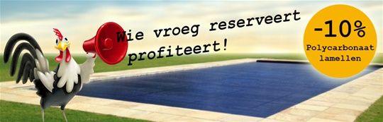 Recover Pools - (Re)Cover® BV Vroegboek Weken
