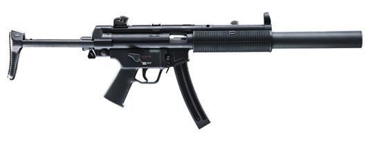 H&K MP5 SD 22LR 16.1 25RD