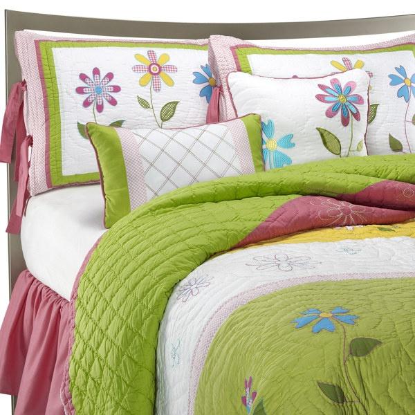 Natalia Quilt Set, 100% Cotton - Bed Bath & Beyond