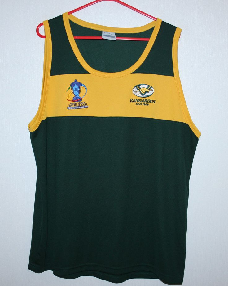 Australia #national #rugby #league team shirt world cup england and wales 2013 xl,  View more on the LINK: http://www.zeppy.io/product/gb/2/182383865907/
