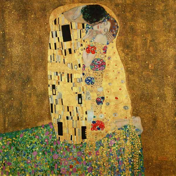 Image: Gustav Klimt - The Kiss