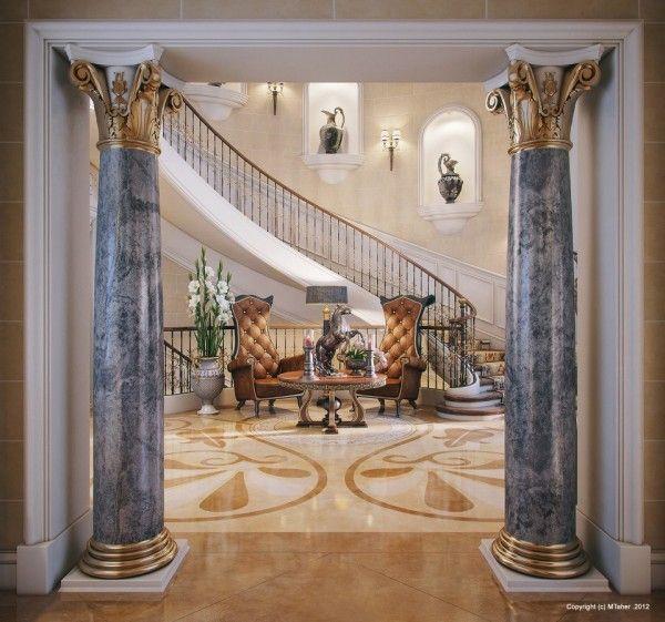 Opulent, breathtaking Villa,in Qatar visualized by architect Muhammad Taher