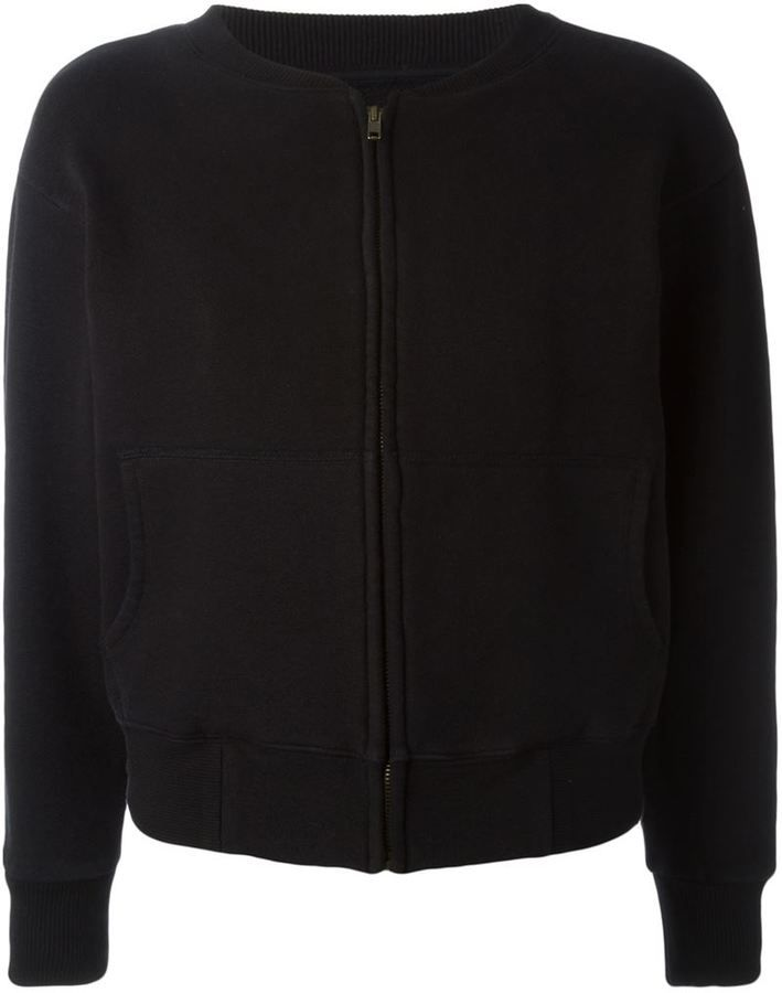 Yeezy Adidas Originals by Kanye West jersey zip-cardigan