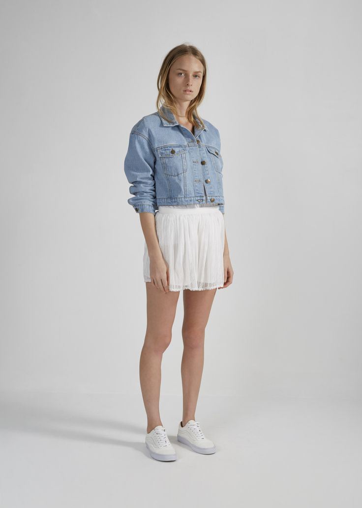 THE FIFTH - Studio Time Classic Washed Denim Jacket