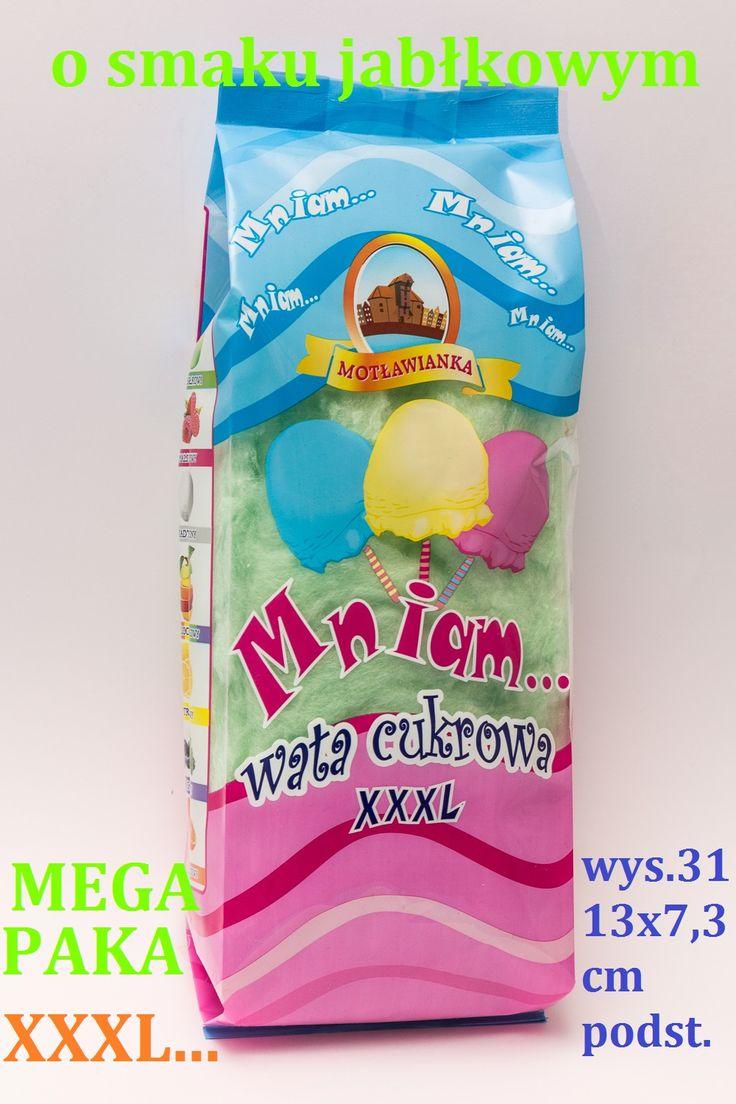 cotton candy wata cukrowa mega paka www.polskawatacukrowa.pl