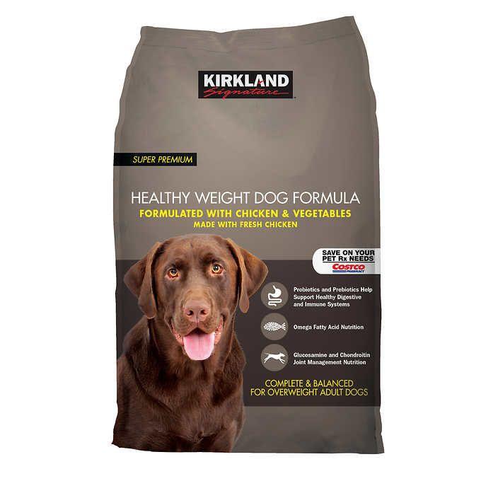 Kirkland Signature Super Premium Chicken & Vegetables Healthy Weight Dog Food, 40 lbs.