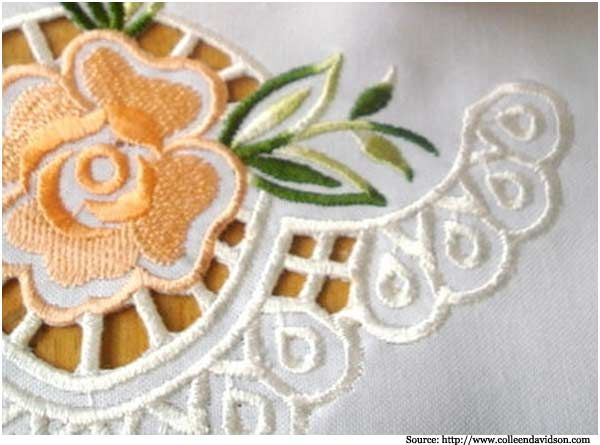 Best images about cut work embroidery on pinterest