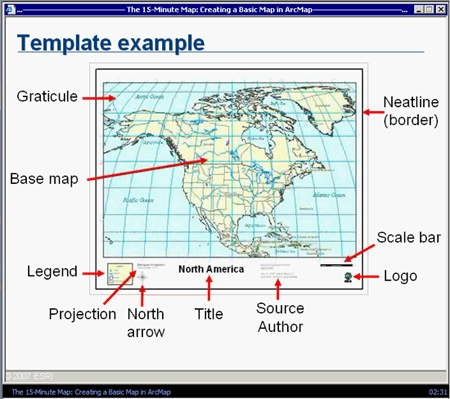 types of maps geography pdf