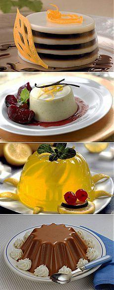 ЖЕЛЕ И МУССЫ - САМЫЕ ПОПУЛЯРНЫЕ РЕЦЕПТЫ - Сладкие блюда и десерты - Сладкие блюда и десерты - Рецепты - Мэджик Леди - сайт для женщин
