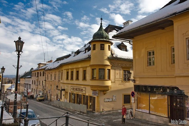 Banská Štiavnica (Selmecbánya), Slovakia (Felvidék, 1920-ig Hont vármegye) –…