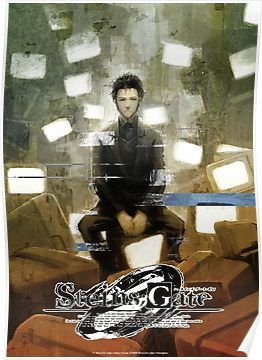 steins gate 0 poster design poster by
