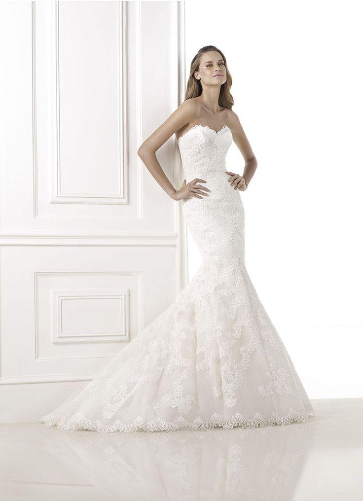 47 best Wedding Dress images on Pinterest | Bräutigamkleidung, Kleid ...