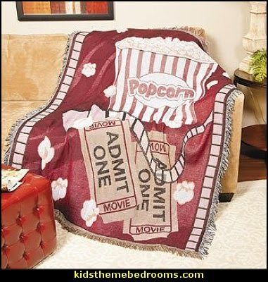 Movie Night Throw - Quilts, Throws and Pillows
