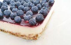 Bosbessen Griekse yoghurt taart1