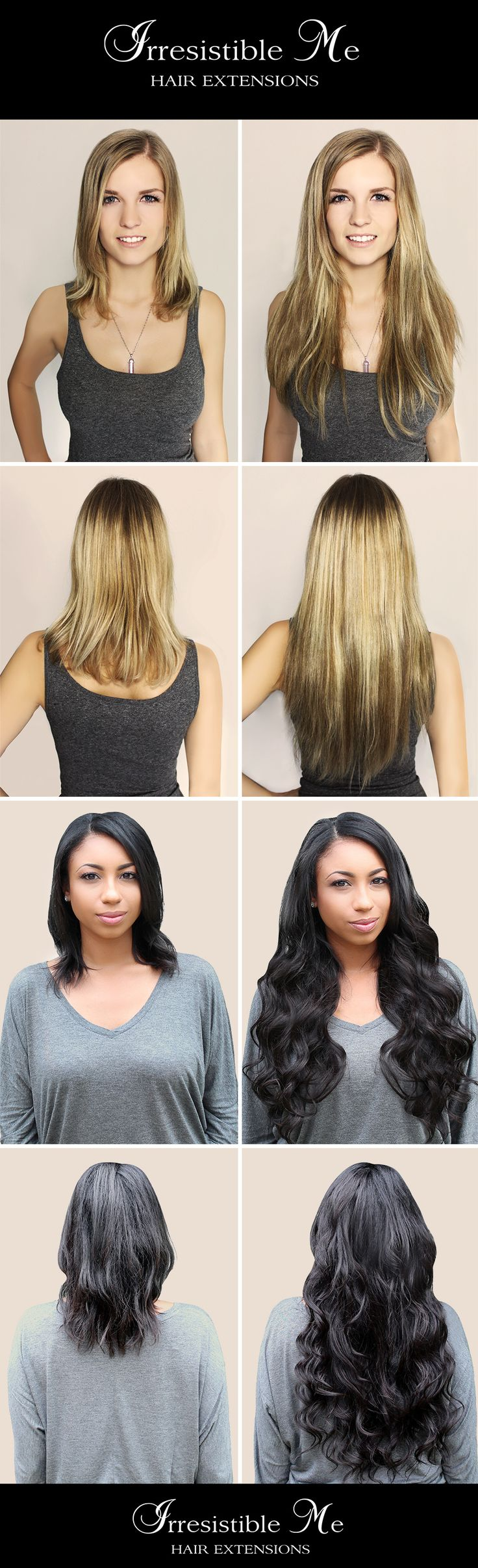 The 25 best remy hair ideas on pinterest ombre human hair get long hair in less than 5 minutes with irresistible me human remy clip in hair extensionse before and after change is totally awesome and nobody will pmusecretfo Choice Image