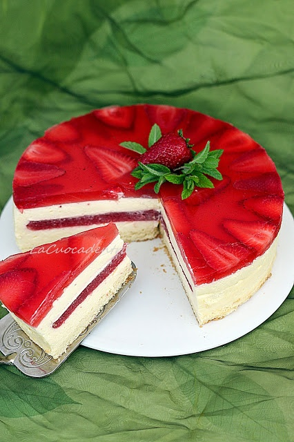 La Cuoca Dentro: Torta Tiramisù alle fragole