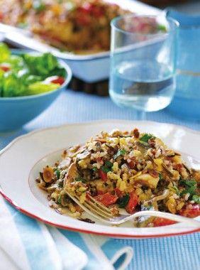 Chicken and Wild Rice Casserole by Trisha Yearwood #recipe