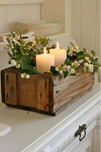 Ideas for Christmas – 15 Candle decoration pictures