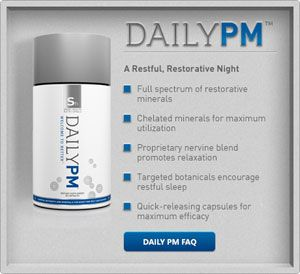 DAILY PM: At night, support your body's essential rest and recovery processes with a complete array of minerals - plus an innovative proprietary nervine blend that helps you relax and fall asleep. Our 10 chelated minerals have been carefully formulated for maximum absorption and utilization. Contact Verve Life on info@vervelife.com.au or visit www.vervelife.com.au for more information.