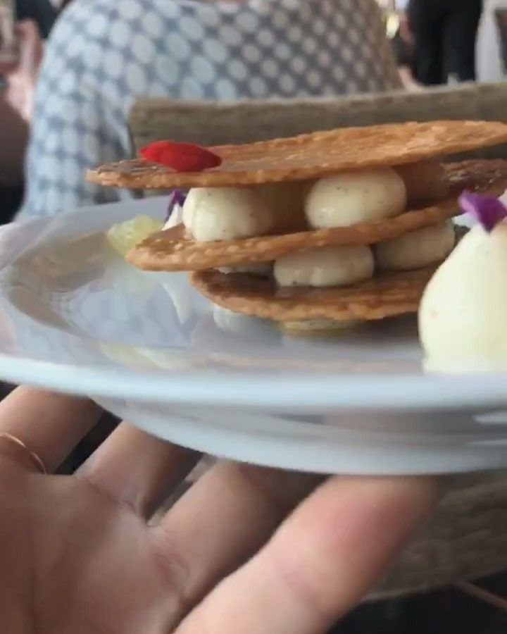 A Millefeuille Done The Chambonpierre Way Thecravelistspittinrhymes I Love Me A Good Millefeuille This Was Exception Food Instagram Food Cravings