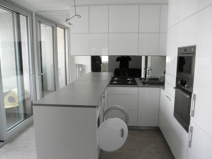 Kuchyňa Biely lesk - BMV Kuchyne