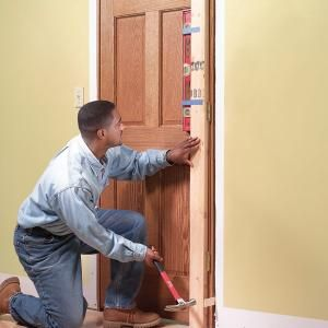 Learn how to hang any type of interior door. Foolproof tips & techniques to help you do a great job even if you're a beginning carpenter.