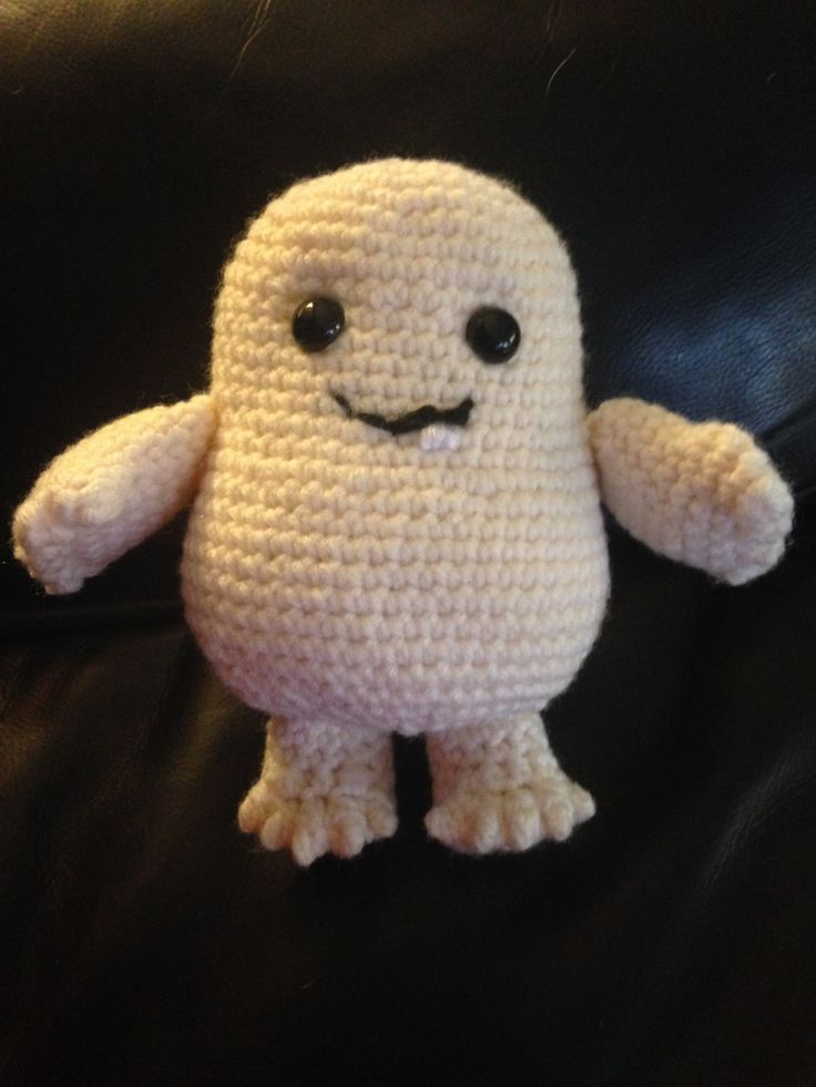 A personal favorite from my Etsy shop https://www.etsy.com/ca/listing/285607485/doctor-who-adipose-inspired-crochet