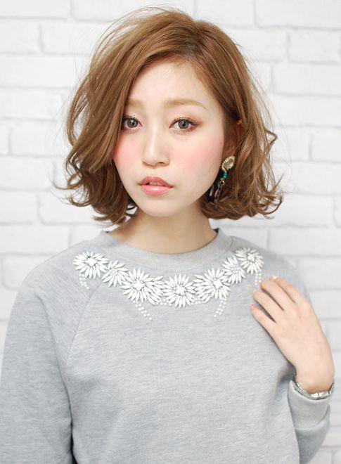 ルーズフェミニンボブ 【CARE shinsaibashi】 http://beautynavi.woman.excite.co.jp/salon/21395?pint ≪ #bobhair #bobstyle #hairstyle  #bobhairstyle・ボブ・ヘアスタイル・髪型・髪形≫