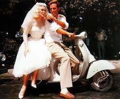 Obviously, I will have to have a Wedding VESPA! Only because I am one Spunky Bastard!