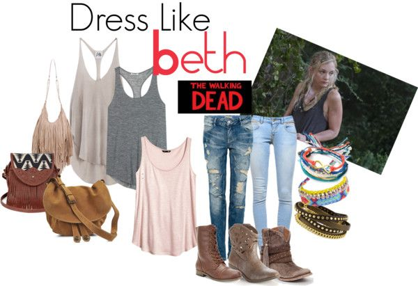 Dress like Beth from The Walking Dead and survive with style!